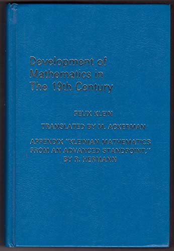 9780915692286: Development of Mathematics in the 19th Century (Lie Groups) (English and German Edition)