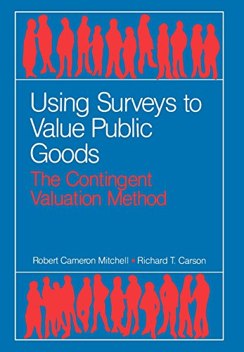 9780915707324: Using Surveys to Value Public Goods: The Contingent Valuation Method