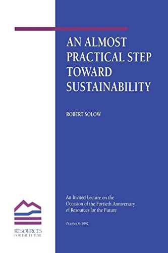 9780915707928: An Almost Practical Step Toward Sustainability (Rff Press)