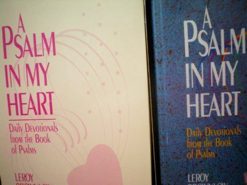 9780915720323: A Psalm in My Heart (Devotions for Today)