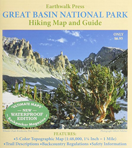 9780915749096: Great Basin National Park Map Hiking Map & Guide