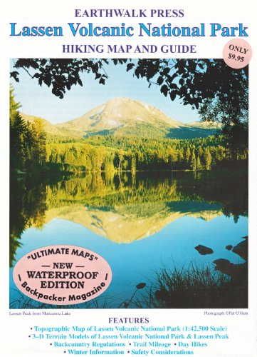 9780915749171: Lassen Volcanic Np Hiking Map
