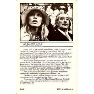 Persistence of Memory: A Personal Biography of Salvador Dali: Amanda Lear