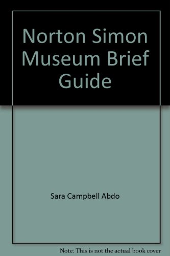 Norton Simon Museum Brief Guide: Other Contributor-Sara Campbell