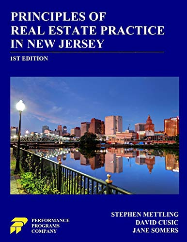 Principles of Real Estate Practice in New: Mettling, Stephen; Cusic,
