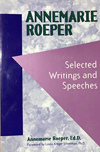 9780915793938: Annemarie Roeper: Selected Writings and Speeches