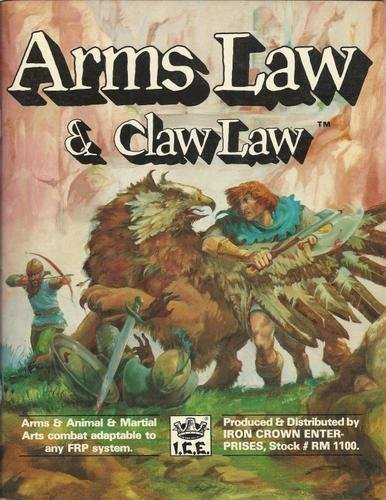 Rolemaster: Arms Law and Claw Law