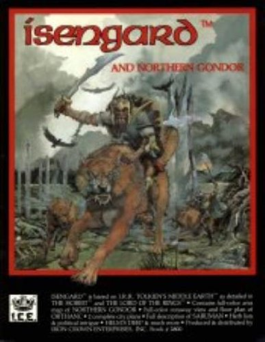 9780915795116: Isengard and Northern Gondor (Middle Earth Role Playing/MERP Book + Full Color Regional Map)