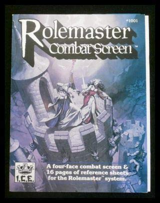 Rolemaster Combat Screen (#1001) 2nd Edition: 0