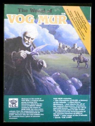 9780915795154: The World of Vog Mur (Loremaster/Rolemaster)