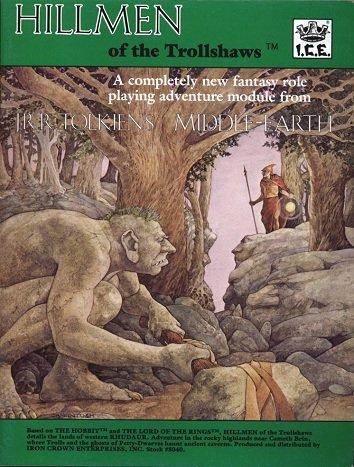 Hillmen of the Trollshaws (Middle-Earth Role Playing: Jeff McKeage