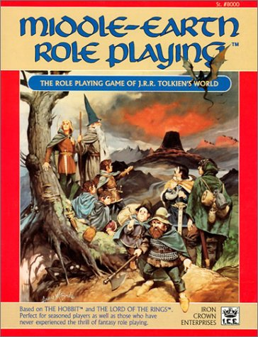 9780915795314: Middle Earth Role Playing (Middle Earth Game Rules, Intermediate Fantasy Role Playing, Stock No. 8000)