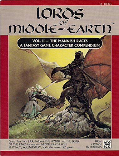 9780915795321: Lords of Middle-Earth Vol 2: The Mannish Races (Middle Earth Role Playing Game, #8003)