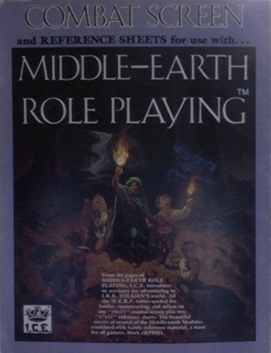 9780915795345: Combat Screen and Reference Sheets (MERP/Middle Earth Role Playing)