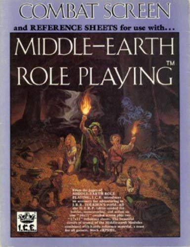 Combat Screen and Reference Sheets (MERP/Middle Earth: Charlton, s Coleman