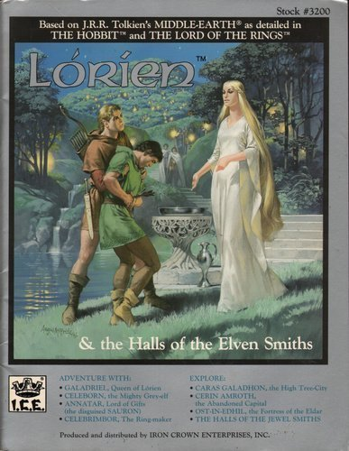 Lorien and the Halls of the Elven: Terry K. Amthor