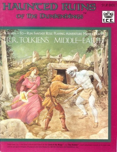 Haunted Ruins of the Dunlenoings (Rolemaster #8101): Tolkien, J. R.