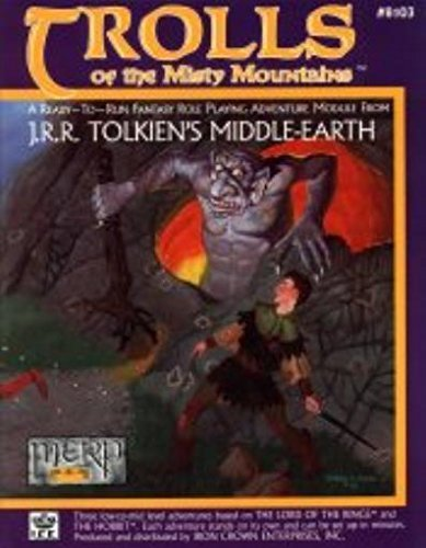 Trolls of the Misty Mountains (Middle-Earth Role Playing (MERP) (1st Edition) - Adventure Books)