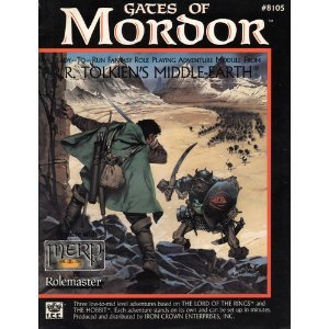 9780915795819: Gates of Mordor (Middle Earth Role Playing/MERP)
