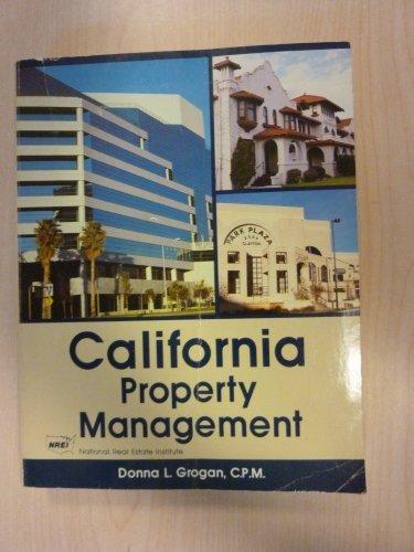 California Property Management -1989 publication.