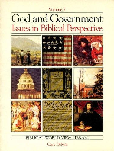 9780915815012: God and Government Issues in Biblical Perspectives