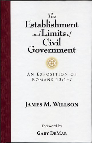 9780915815548: Establishments and Limits of Civil Government