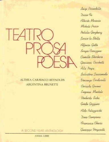 9780915838127: Teatro, Prosa, Poesia