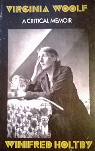 9780915864898: Virginia Woolf: A Critical Memoir