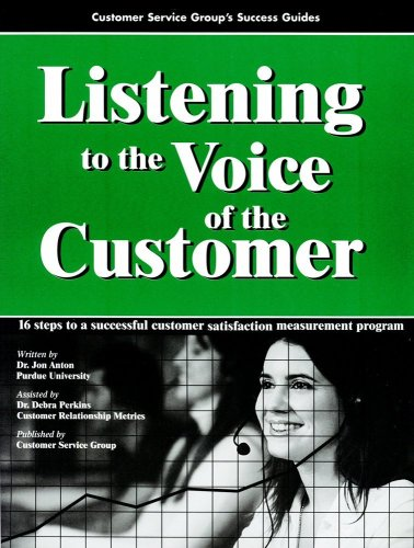 Listening to the Voice of the Customer: