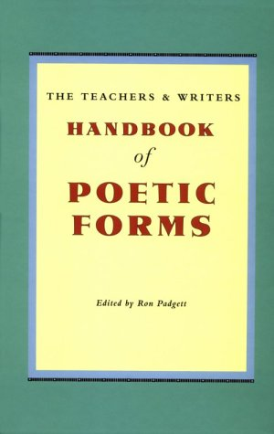 9780915924615: The Teachers and Writers Handbook of Poetic Forms