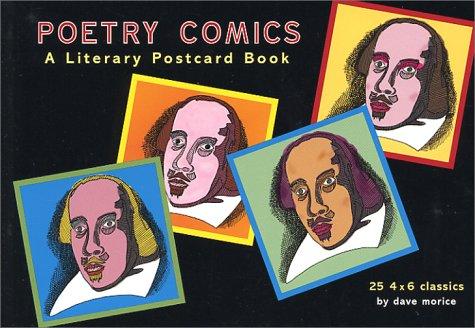Poetry Comics: A Literary Postcard Book: Morice, Dave