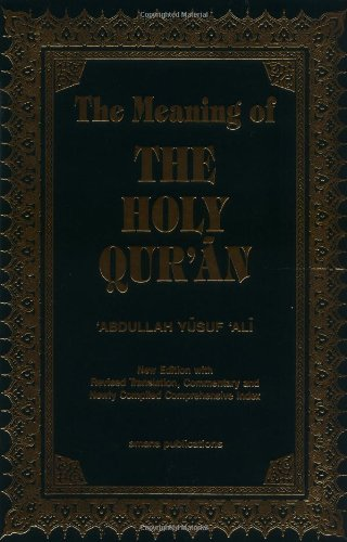 9780915957767: The Meaning of the Holy Qur'an (English, Arabic and Arabic Edition)
