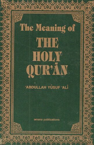 9780915957774: The Meaning of the Holy Qur'an (pocket size)