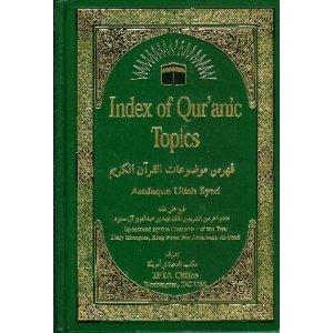 9780915957903: Index of Qur'anic Topics