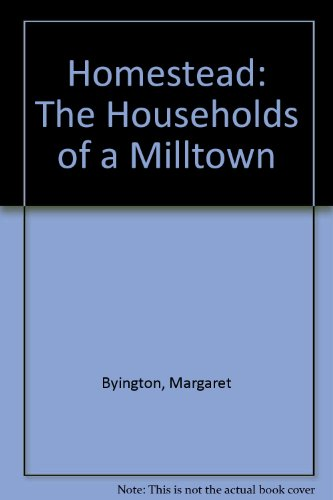 9780916002138: Homestead: The Households of a Milltown