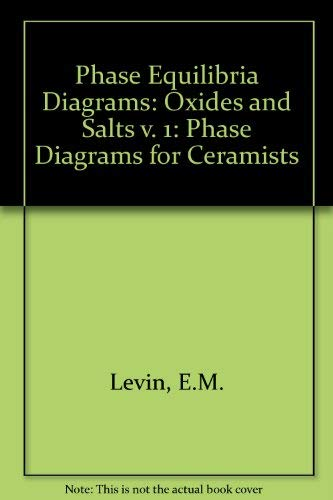 9780916094041: Phase Diagrams For Ceramists Vol. 1: Oxides and Salts (Volume 1)