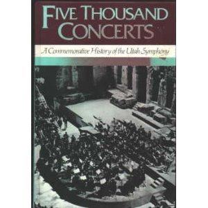 Five thousand concerts: A commemorative history of: Conrad B Harrison