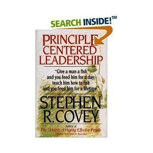 9780916095314: Principle-Centered Leadership: Teaching Timeless Principles of Effectiveness