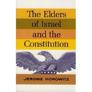 9780916095413: The Elders of Israel and the Constitution