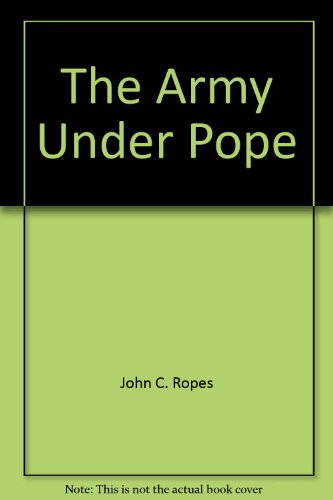 9780916107352: The Army Under Pope