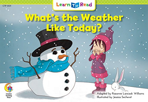 9780916119416: What's the Weather Like Today? (Emergent Reader Science; Level 2)
