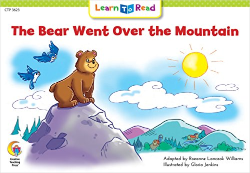 9780916119515: The Bear Went Over the Mountain (Fun and Fantasy Learn to Read)