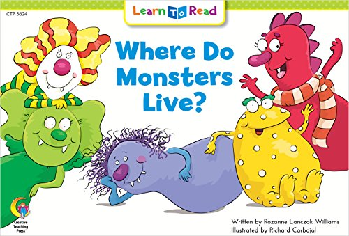 9780916119522: Where Do Monsters Live? (Fun and Fantasy Learn to Read)