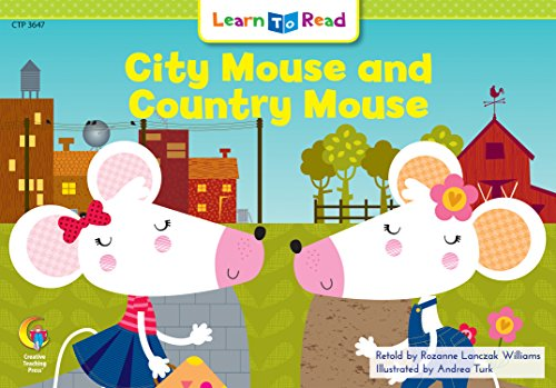 9780916119614: City Mouse and Country Mouse (Fun & Fantasy Learn to Read, Read to Learn)