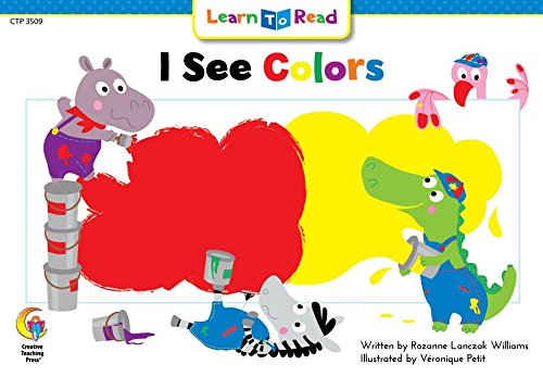 9780916119768: I See Colors (Learn to Read Science Series)