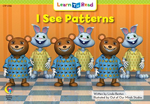 9780916119973: I See Patterns Learn to Read, Math (Math Learn to Read)