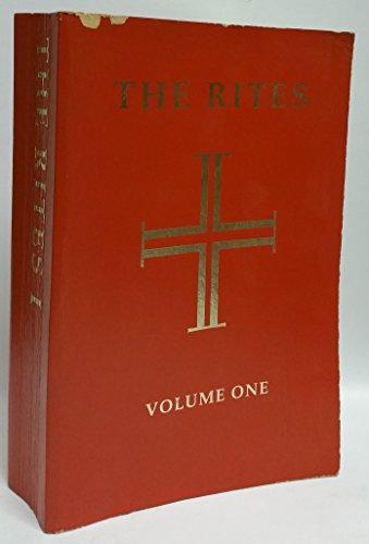 9780916134150: The Rites of the Catholic Church: Volume One