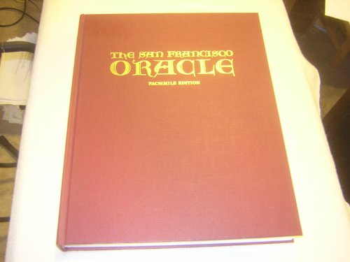 9780916147112: The San Francisco Oracle (Facsimile Edition)