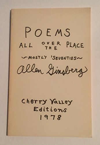 9780916156312: Poems all over the place, mostly seventies