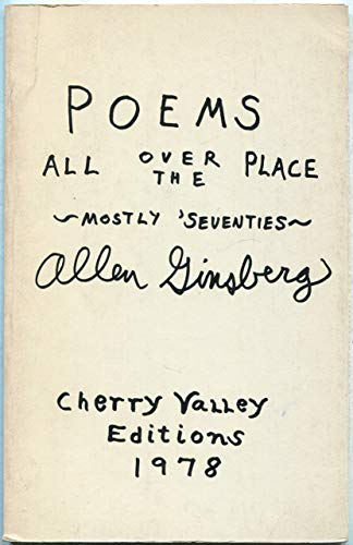 9780916156329: Poems all over the place, mostly 'seventies [Paperback] by Ginsberg, Allen